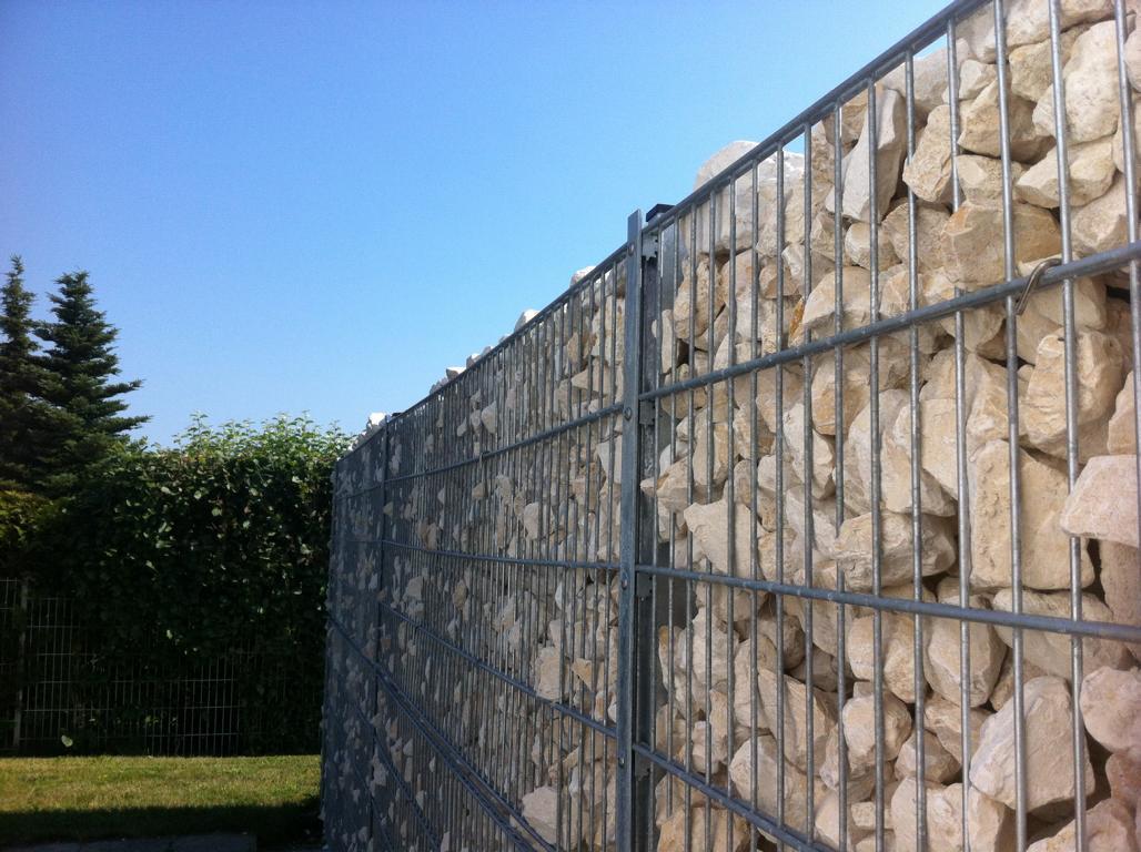 Gard tip gabion
