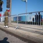 Panouri tip bariera jandarmerie